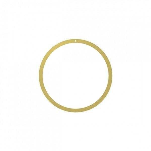 Bytové doplňky Mosazný kruh 20cm