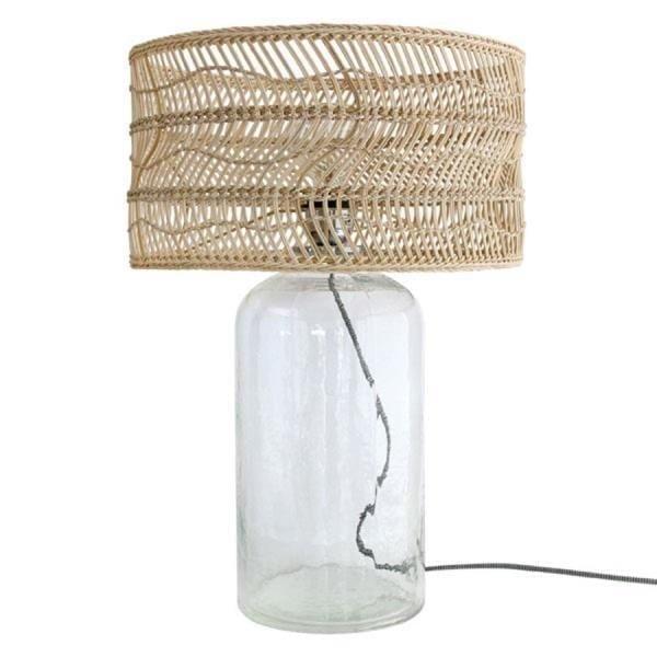 Lampy, lustry, svítidla Proutěná lampa GLASS